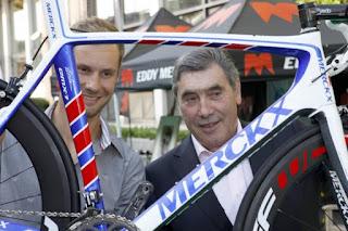Eddy+Merckx+y+Tom+Boonen Eddy Merckx el Caníbal y ganador de 5 Tour de France en Diciembre 2010 en Calpe   Costa Blanca