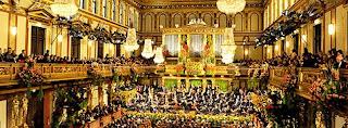 concierto Concierto de Año Nuevo de la Filarmónica de Viena el 01.de Enero 2011 en la pantalla grande del Hotel AR Diamante Beach de Calpe