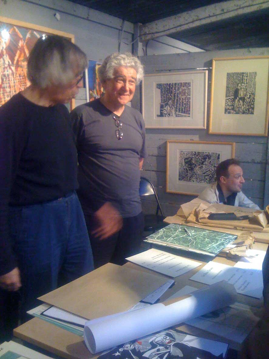 le bois gravé 16) Jean Villeroux & JeanClaude Auger ~ Jean Claude Bois