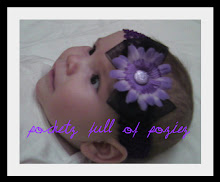 Black sheer ribbon w/purple flower