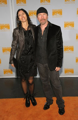 The Edge y su mujer Morleigh Steinberg