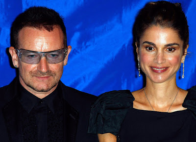 The Appeal Of Conscience, Bono y Rania de Jordania