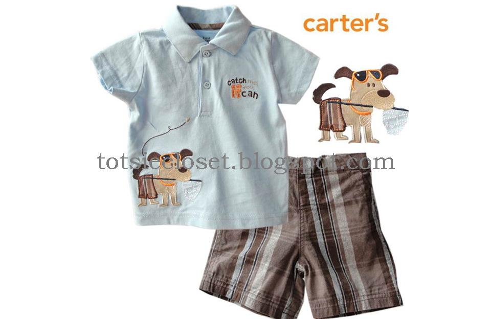 Carter's Cute Doggy Set | Baby Clothes @ Totsie Closet
