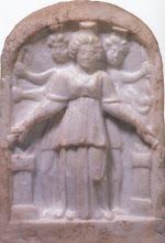 mármol de Paros, s,II-III d.C.
