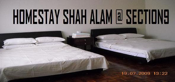 HOMESTAY SHAH ALAM @ SECTION 9