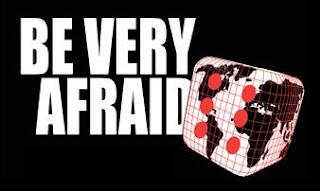 Logo of the 'Be Very Afraid' website