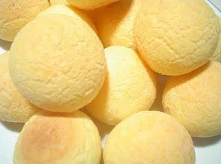 receita PÃO DE QUEIJO gorgonzola