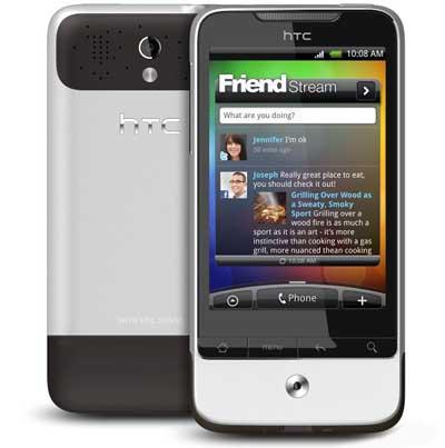 HTC Legend Key Features and Disadvantages