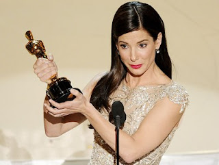 Sandra Bullock no Oscar 2010