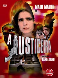 A Justiceira - Capa DVD