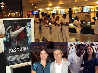 Besouro - pre-estreia em Salvador