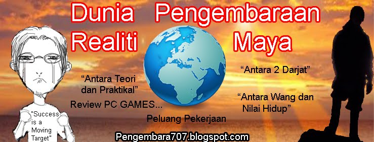 Pengembaraan Dunia Realiti, Permainan Komputer, Prinsip Keabadian Tenaga dan Dot Dot Dot
