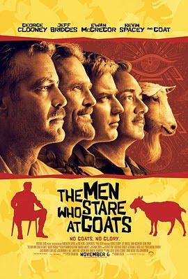 Filme Poster Os Homens Que Encaravam Cabras DVDRip XviD Dual Audio