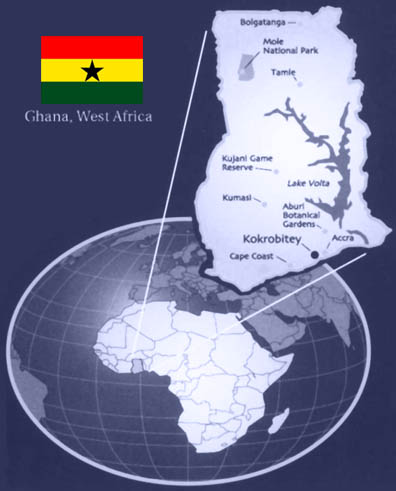 map of ghana west africa. Ghana has already done better