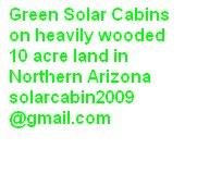 Green Solar Cabins