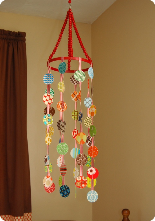 LoveB3ingPreggie: Make Your Own Crib Mobile (DIY)