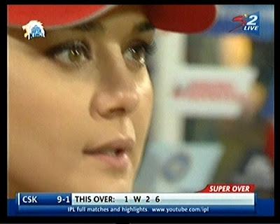 Preity Zinta In Tension Is Her Team Wins Or Lose