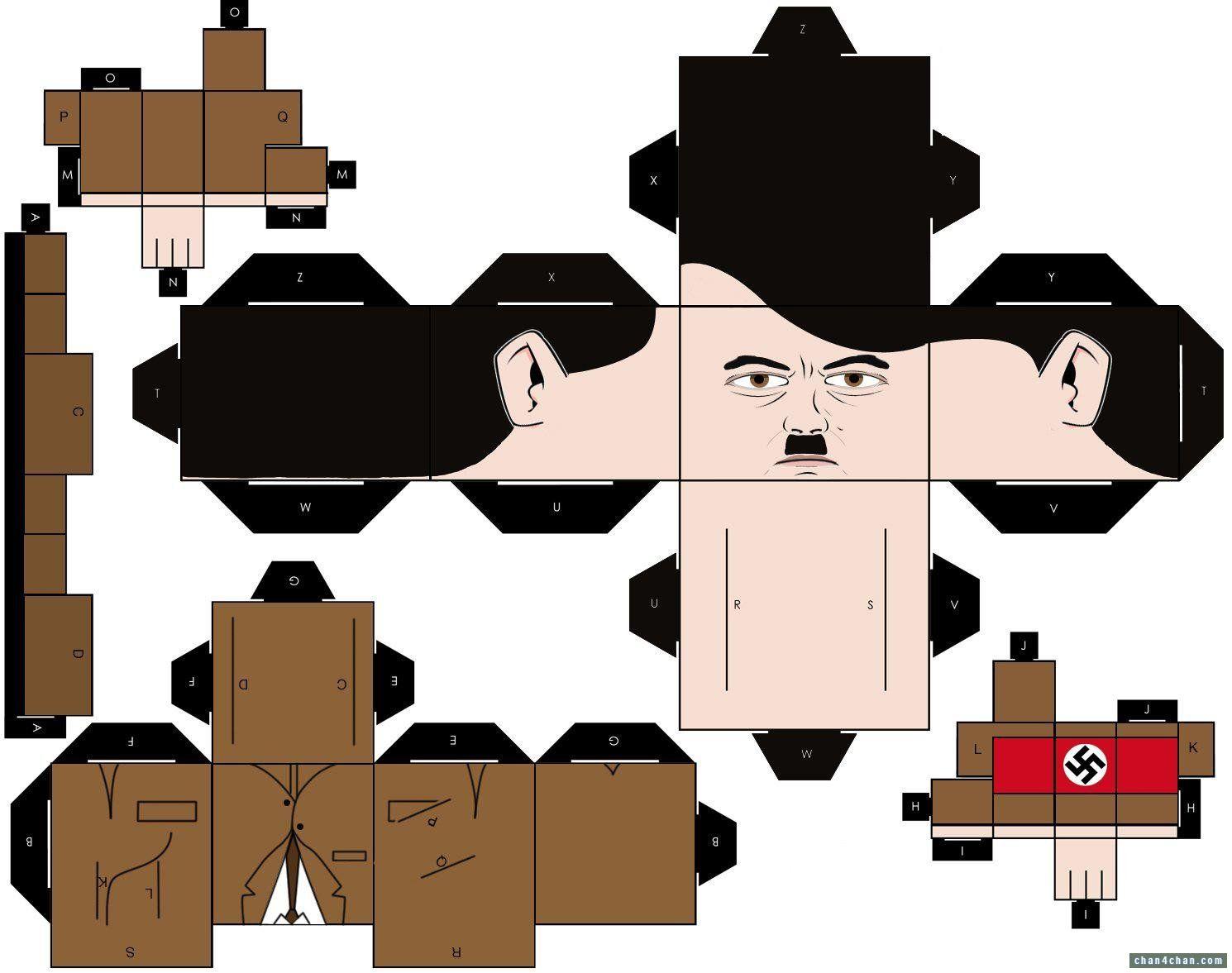 Daily hitler hitler papercraft altavistaventures Choice Image