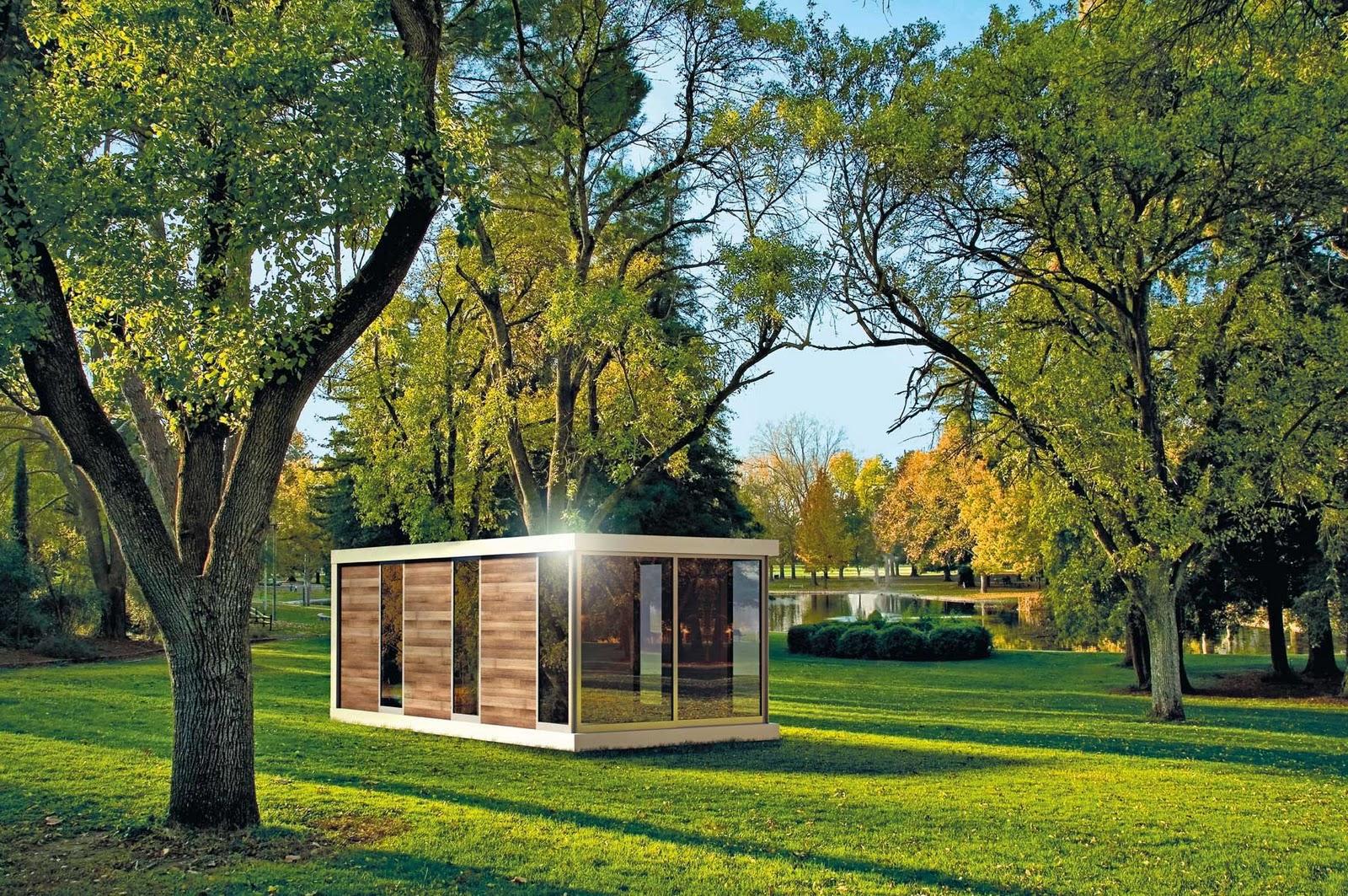Microabitazioni prefabbricate design hangar design group for Software di progettazione di case in legno