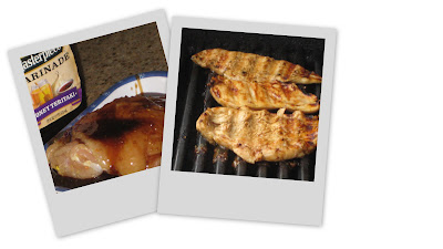 Articole culinare : Griled Chicken with Honey Teriyaki marinade