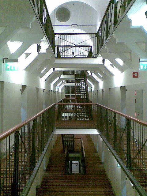 Never stop travelling hotel katajanokka in helsinki for Prison converted to hotel
