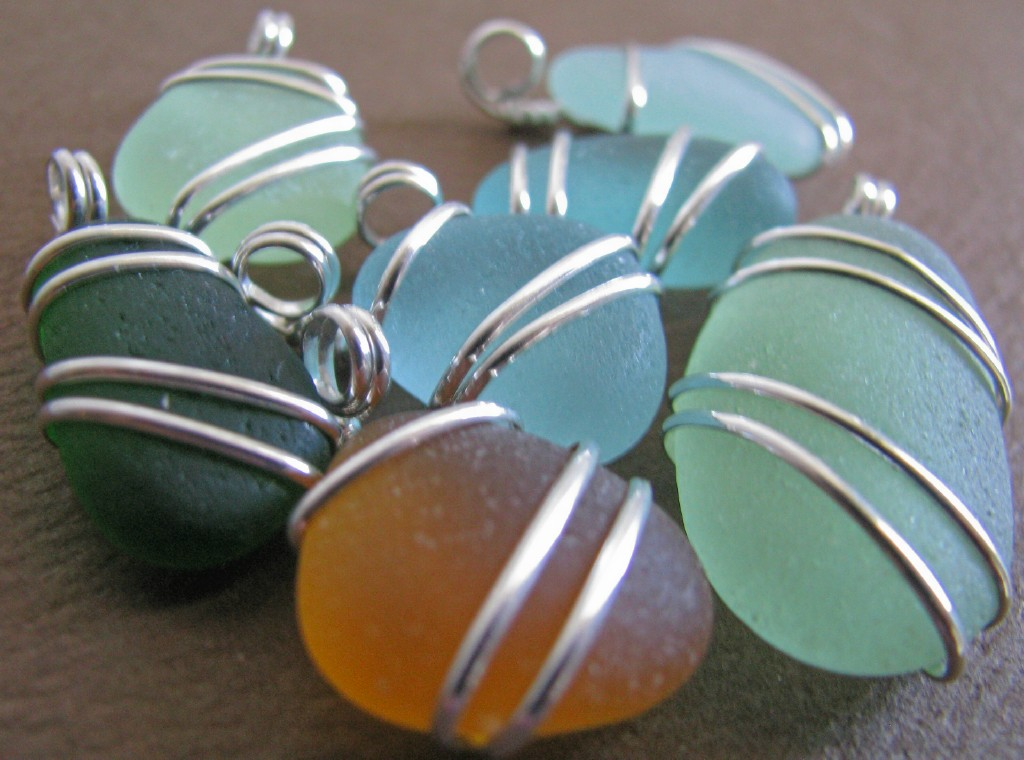 Dabble with crafts new designs new ideas sea glass for Glass jewels for crafts