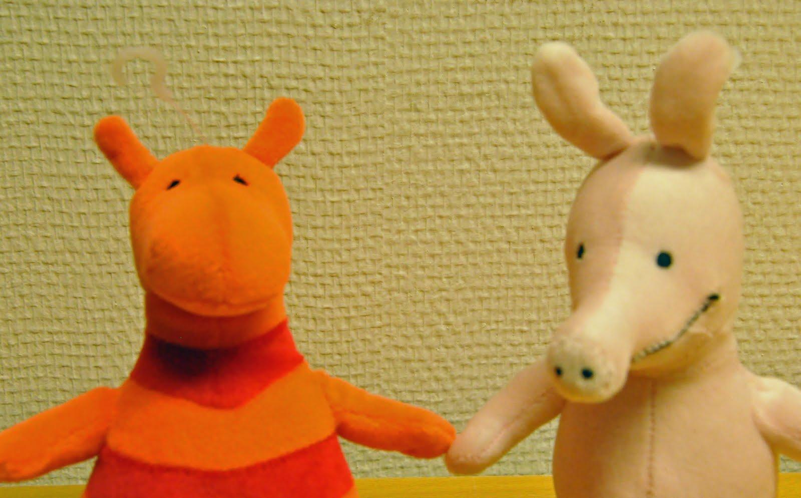 rosa siderna nya vänner