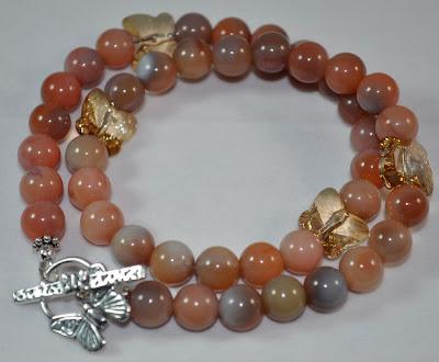 Botswana Agate - Crystal Flight Bracelet - Rock Candy Miami