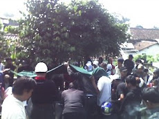 Pemakaman Almarhum pak Wawan
