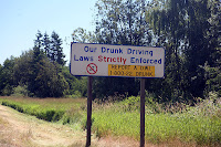 Our Drunk Driving Laws Strictly Enforced - Report a D.W.I.  1-800-22 DRUNK