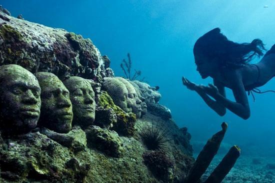 Exposición bajo el mar. National-marine-park-of-isla-mujeres-9_yAxeu_11446