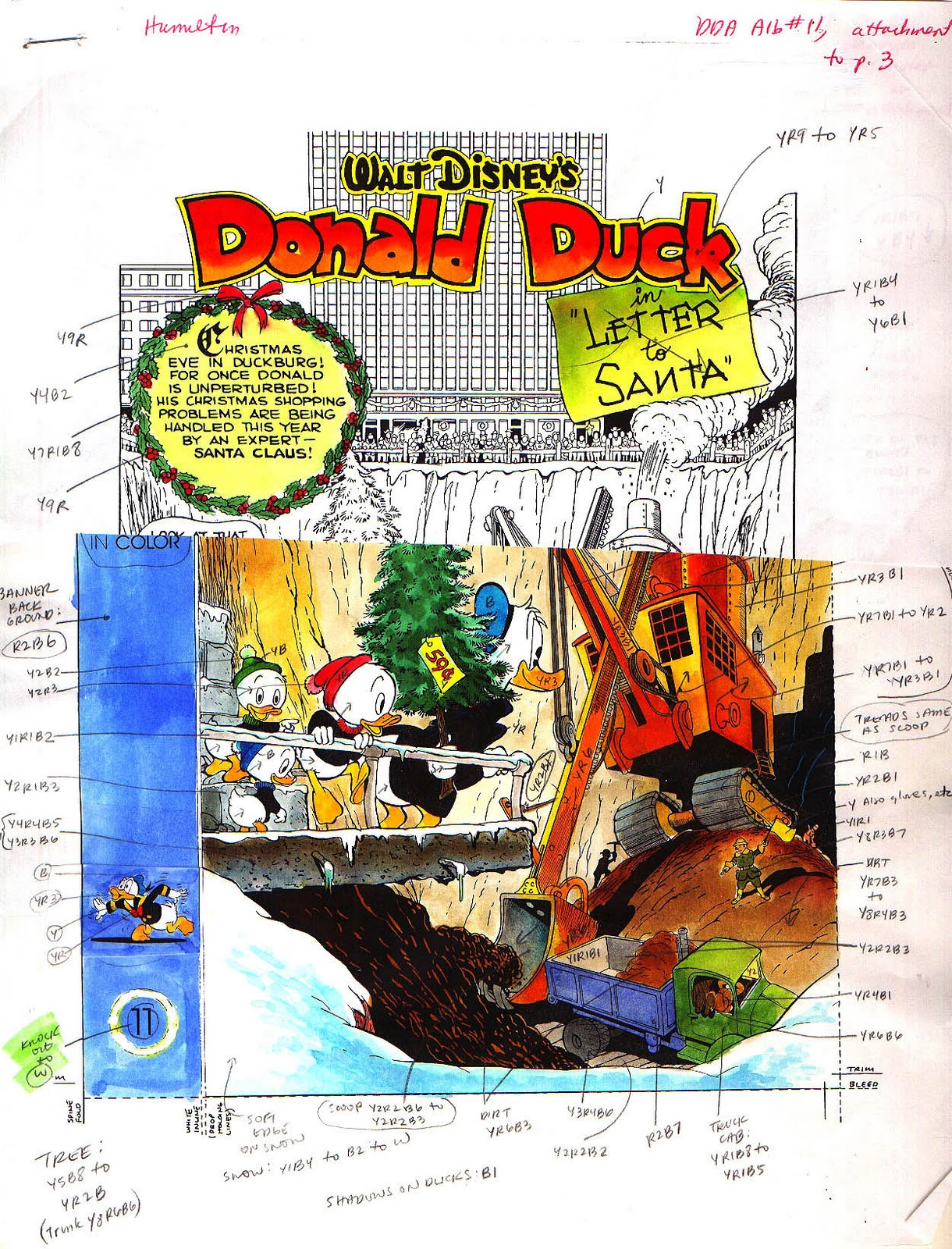 A letter to santa carl barks style color and caffeine it was his decision to create cover art for each book from panels and figures in the stories spiritdancerdesigns Choice Image