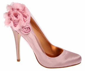 wedding shoes,hot pink