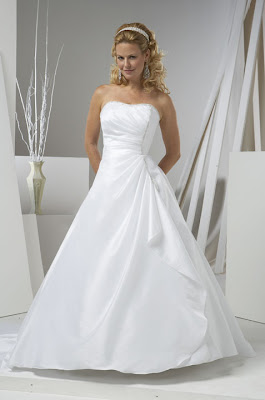 wedding dresses strapes