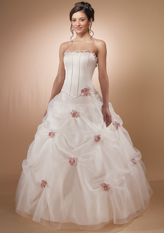 Wedding gown dresses strapless wedding dresses popular for Image of wedding dresses