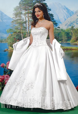 wedding dress straples