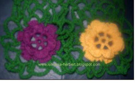 Cachecol Flores Da Elaine