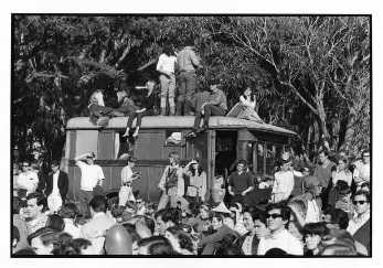 THE HUMAN BE-IN  AT THE POLO GROUNDS INSIDE GOLDEN GATE PARK, SAN FRANCISCO sat.14 Jan.1967