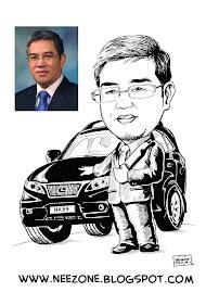karikatur Chairman utk RBC AIRPORT