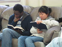 Bible discussions at different times & places.  Contact us to find something that suits you!