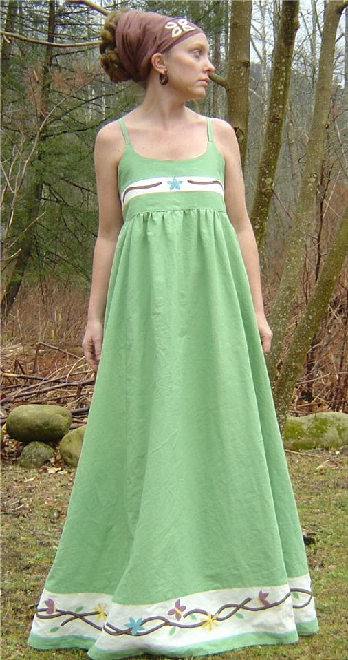 Hippie fashion hippie style hippie wedding dresses for Hippie dresses for weddings
