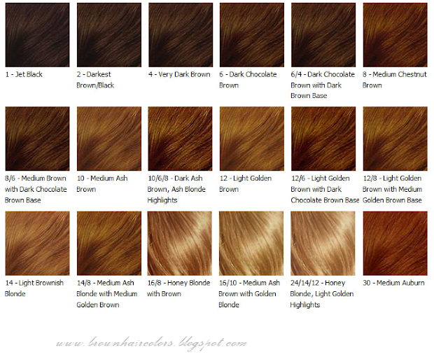 brown hair colors