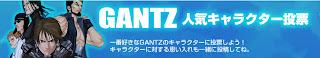 Ranking de los personajes más populares de Gantz Ranking
