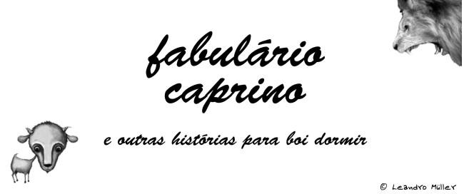 Fabulário Caprino e outras histórias para boi dormir
