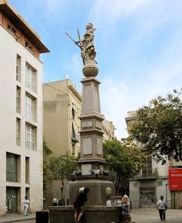 Barcelona Sights - Placa Padro