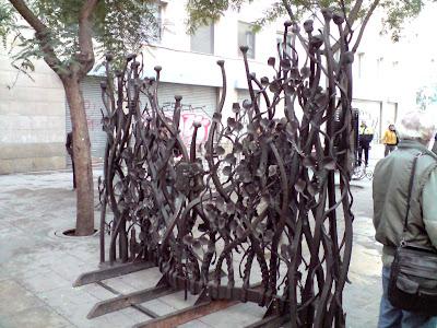 Barcelona Sights - Iron gates
