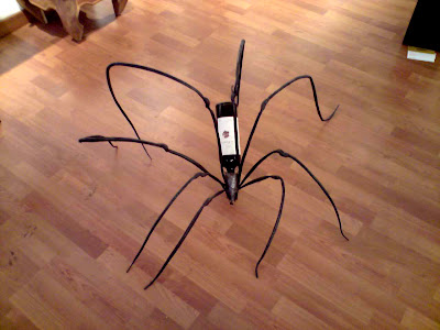 Wine Spider on Barcelona Sights
