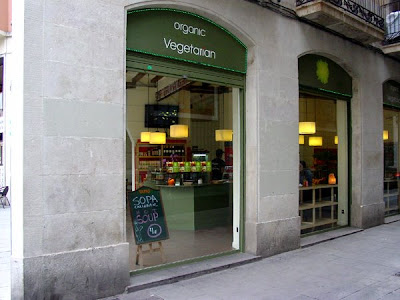 Organic Restaurant on Barcelona Sights Blog