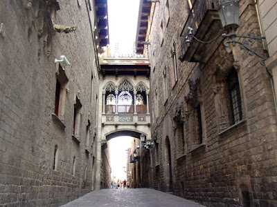 Gothic Quarter - Barcelona Sights