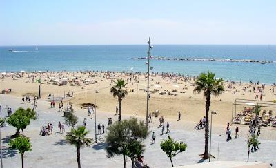 Barceloneta Beach - Barcelona sights